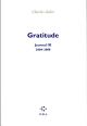 JOURNAL, IX : GRATITUDE - (2004-2008)